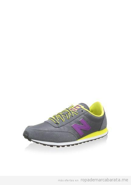 Zapatillas deportivas casual de mujer marca New Balance baratas, outlet