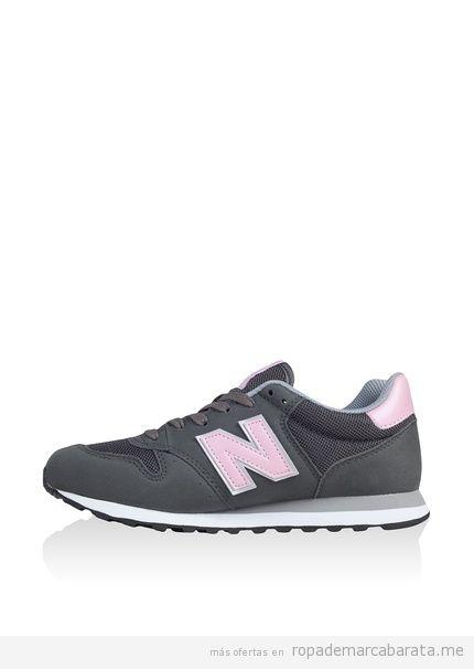 Zapatillas deportivas casual de mujer marca New Balance baratas, outlet 3