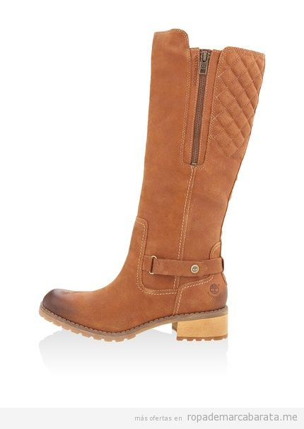 Botas marrones mujer marca Timberland baratas, outlet