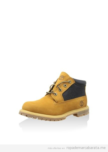 Botines mostaza marca Timberland baratas, outlet
