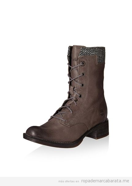 Botas marrones mujer marca Timberland baratas, outlet 2