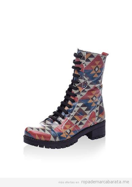 Botas y botines estampados marca Isabelle Jaquelin baratos, outlet 2