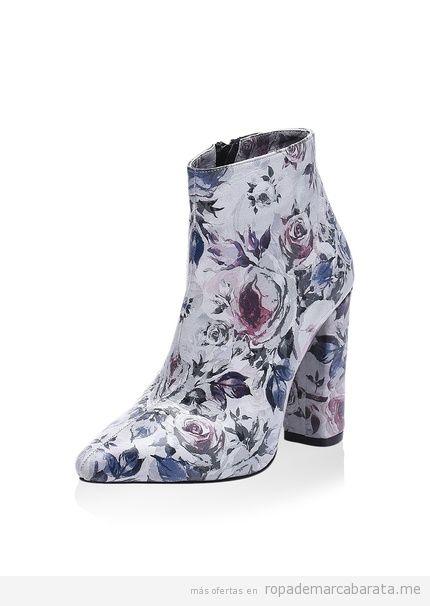 Botas y botines estampados marca Isabelle Jaquelin baratos, outlet
