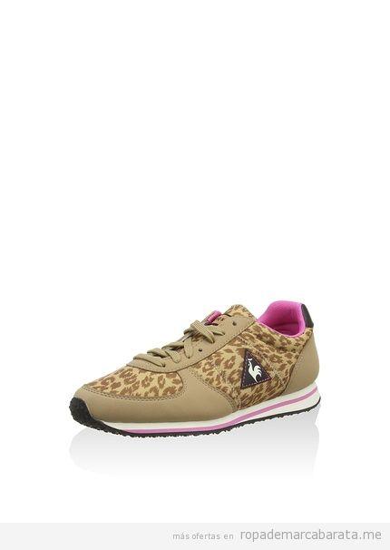 Zapatillas mujer marca Le Coq Sportif baratos, outlet