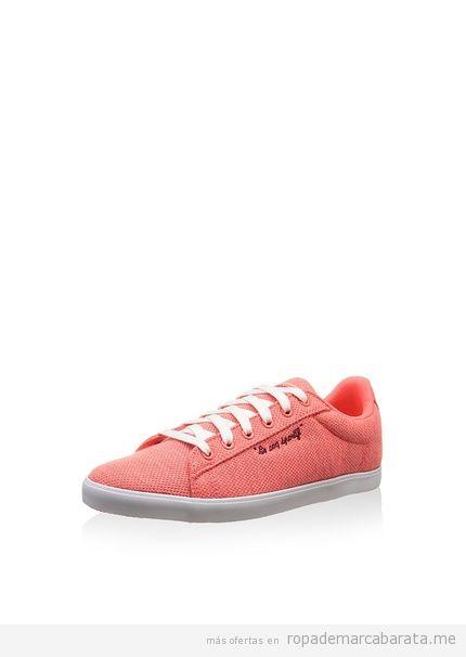 Zapatillas mujer marca Le Coq Sportif baratos, outlet 2