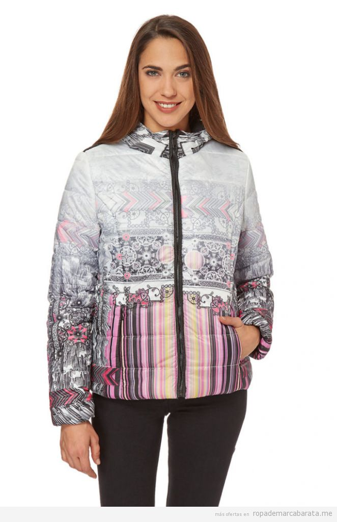 Anoraks de mujer marca Desigual baratos, outlet