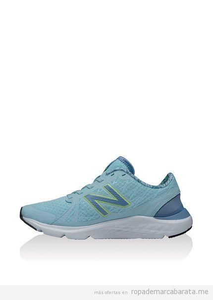 Zapatillas deporte mujer marca New Balance baratas, rebajas