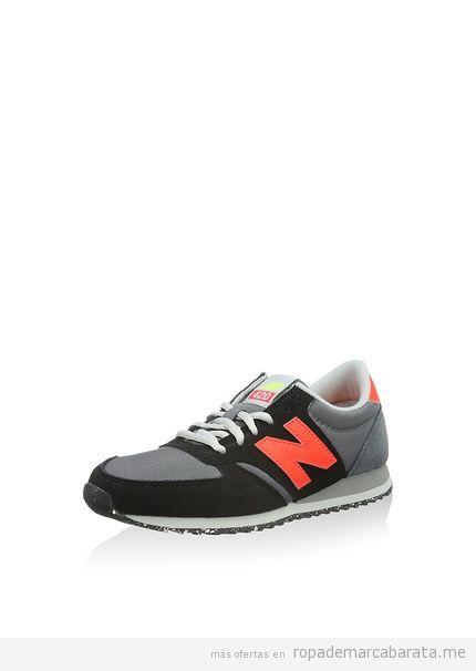 Zapatillas deporte mujer marca New Balance baratas, rebajas 3