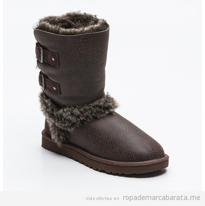 Botines mujer marca UGG baratos, outlet