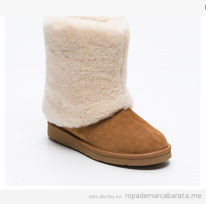 Botines mujer marca UGG baratos, outlet 2