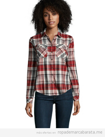 Camisas mujer marca Timberland baratas, outlet online