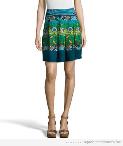 Faldas estampadas marca Savage Culture baratas, outlet