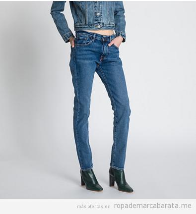 Pantalones vaqueros marca Levi's baratos, outlet 3