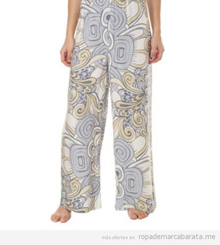 Pantalones pijama marca Oysho baratos, outlet online