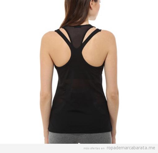 Camiseta deporte marca Oysho barata, outlet online