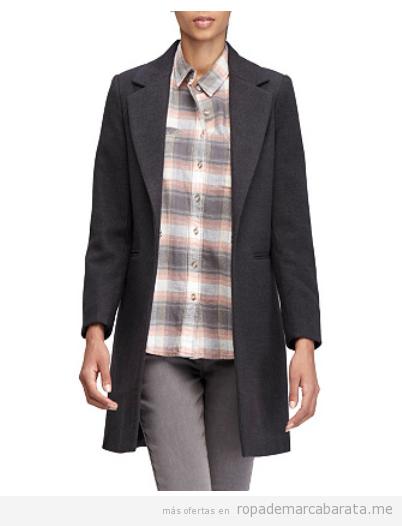 Abrigo mujer marca Amichi barato, outlet