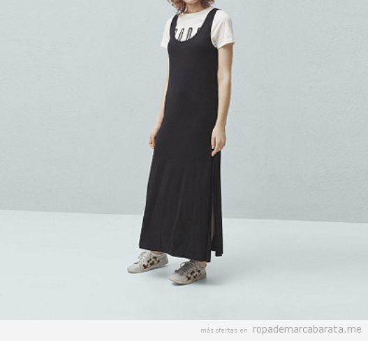 Outlet online ropa marca Mango, vestido largo