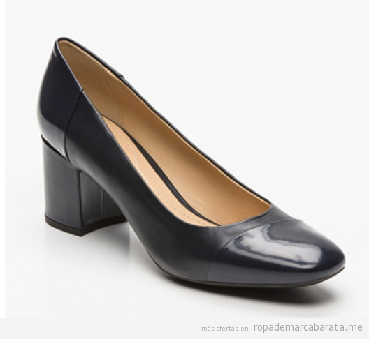 Zapatos tacón cómodos marca Geox baratos, outlet