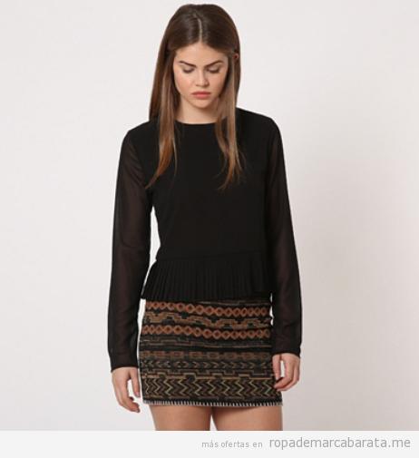 Blusa y falda estampada marca Rac & Tac baratas, outlet