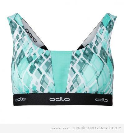 Sujetador deporte running mujer marca Odlo barato, outlet