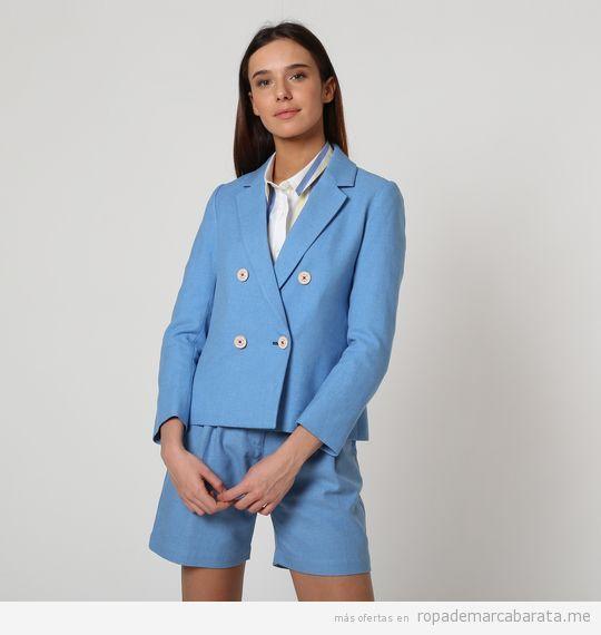 Chaqueta y shorts Vestido marca El Ganso baratos, outlet online