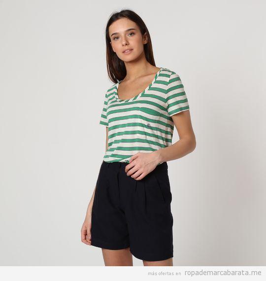 Camiseta rayas marca El Ganso barata, outlet online