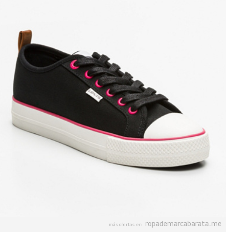 Zapatillas o sneakers mujer marca Levi's baratas, outlet