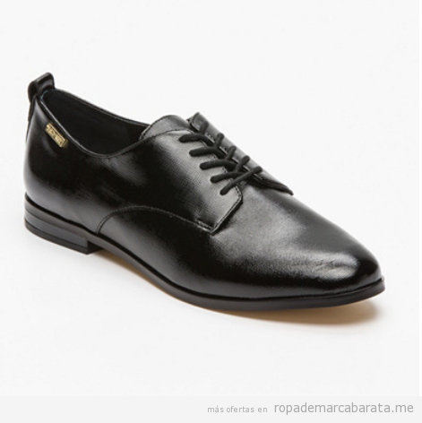 Zapatos derbie marca Kelvin Clain baratos, outlet