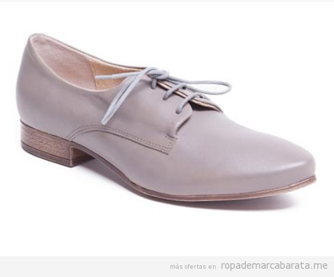 Zapatos cordón para mujer marca Manas baratos, outlet