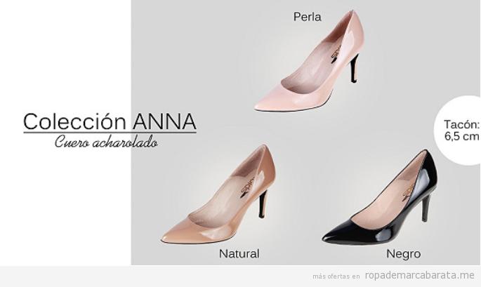 Zapatos tacón marca española Las Lolas rebajas 4