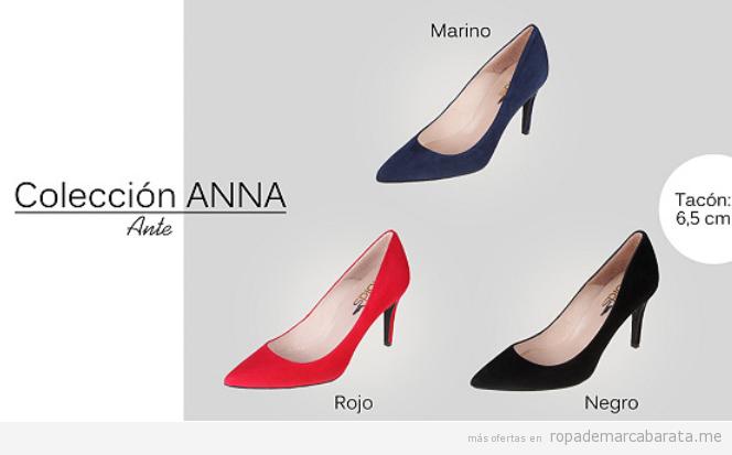 Zapatos tacón marca española Las Lolas baratos, outlet