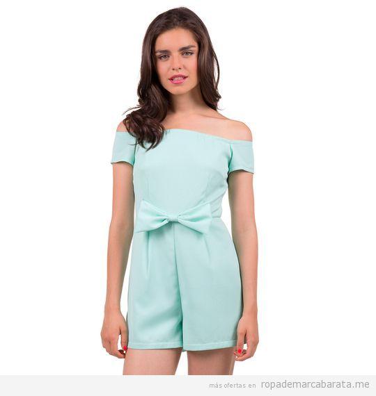 Monoshort primavera verano mujer marca Minueto baratos, outlet