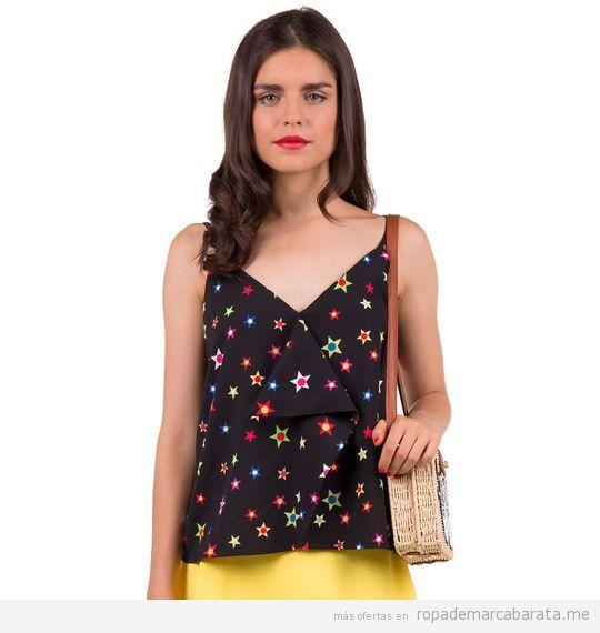 Top estrellas primavera verano mujer marca Minueto barato, outlet