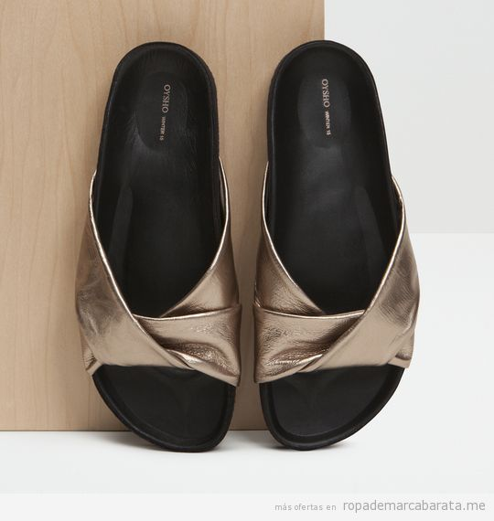 Sandalias de la marca Oysho baratas, outlet online 2