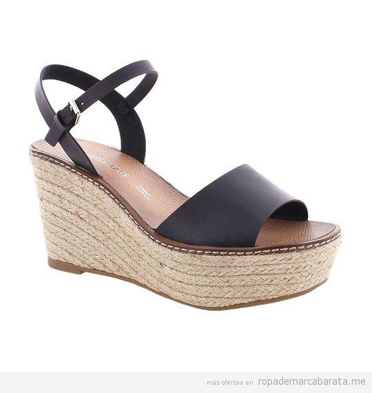 Sandalias cuña marca Mariamare baratas, outlet