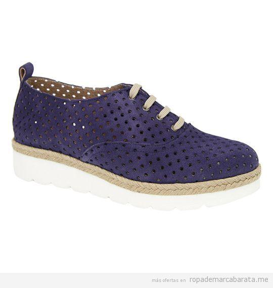 Zapatos de verano calados marca Liberitae baratos, outlet