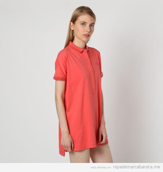 Vestidos polo de algodón marca Marville baratos, outlet 2