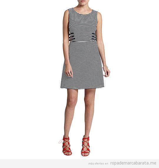 Vestido rayas verano marca Morgan de Toi baratos, outlet