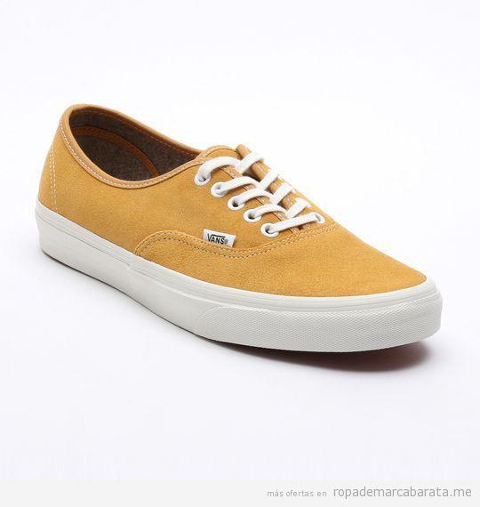 9852bb4428c3f Zapatillas deportivas marca Vans baratas