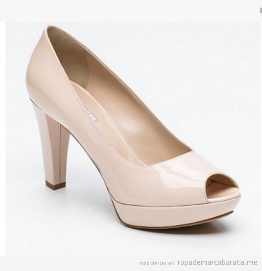 Zapatos peep-toes de la marca Fratello Rossetti baratos, outlet online