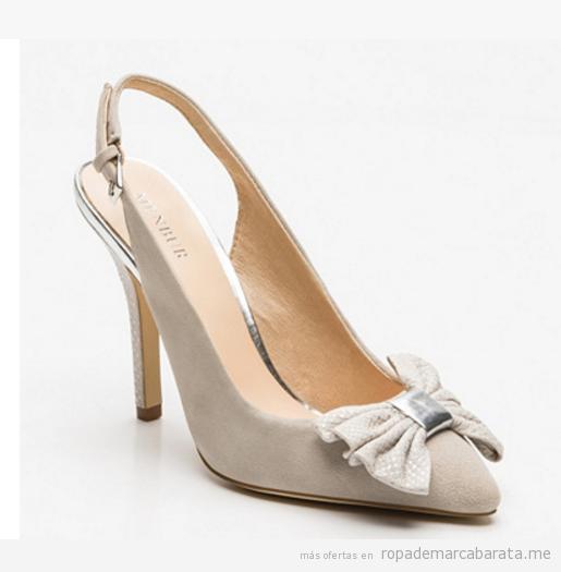 Zapatos de tacón con lazo baratos, outlet online