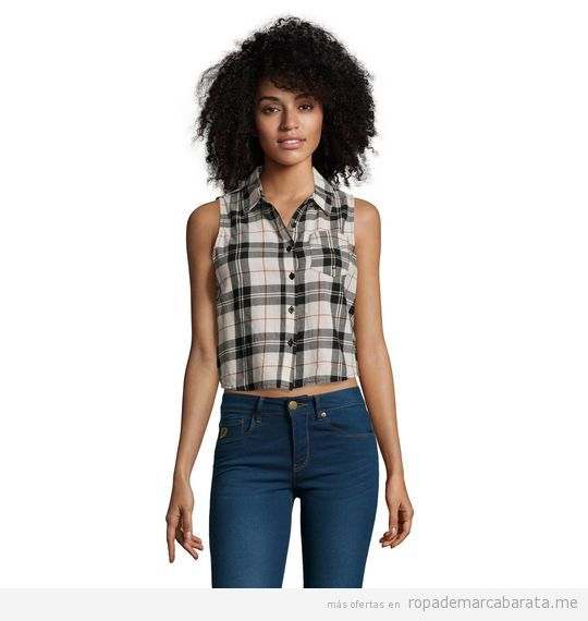 Camisa verano mujer marca Lois baratos, outlet