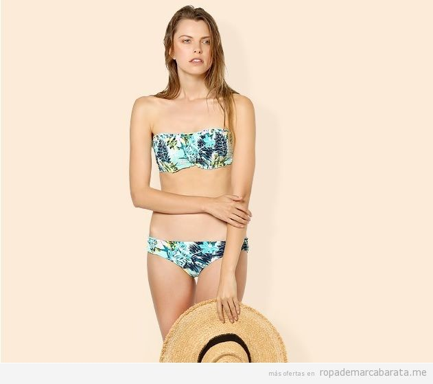 600d3d9ae099 Look playero perfecto: bikini y pamela de Oysho y sandalias y bolso ...