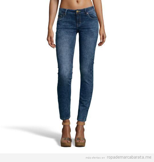 Pantalones vaqueros mujer marca Lois baratos, outlet