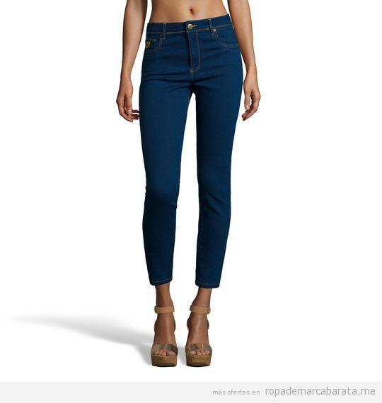 Pantalones vaqueros mujer marca Lois baratos, outlet 2