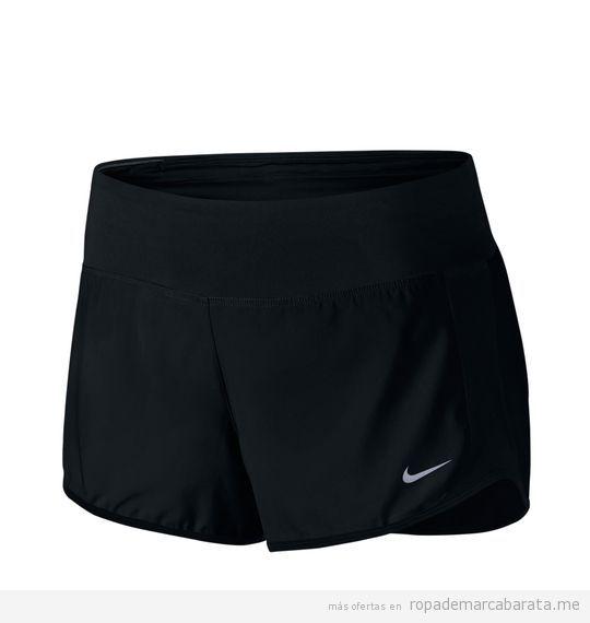 Pantalones shorts deporte marca Nike baratos, outlet