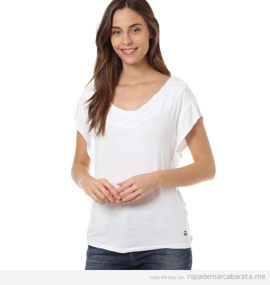 Camiseta de mujer marca Skunkfunk barata outlrt