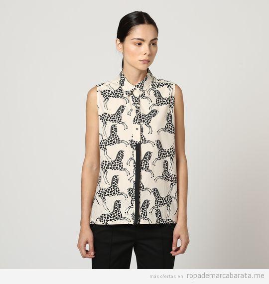 Camisas marca Bimba y Lola baratas, outlet