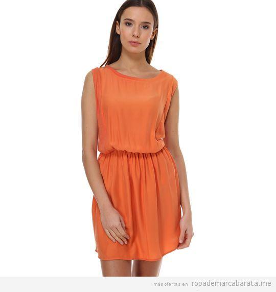 Vestido naranja marca sita murt barato, outlet online
