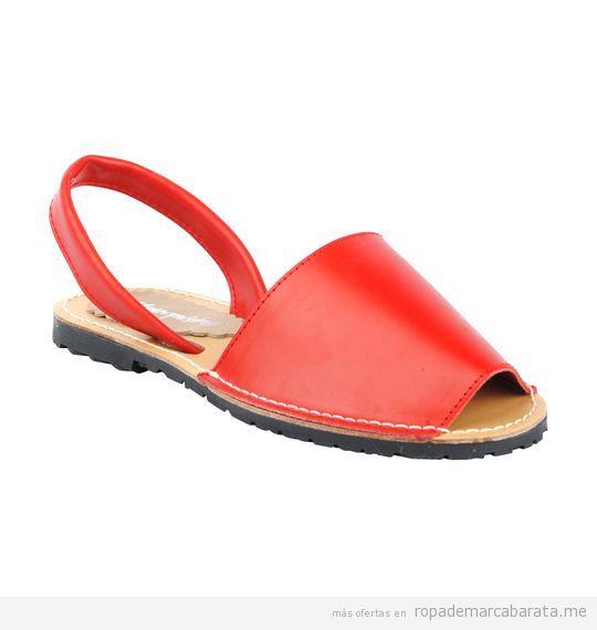 Sandalias menorquinas mujer marca Menorquísimas baratas, outlet